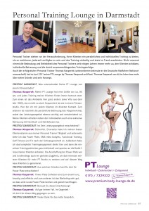 Personal Training Lounge Darmstadt